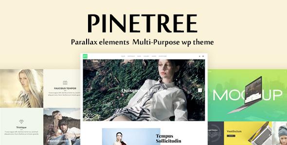 قالب Pinetree - قالب وردپرس چند منظوره