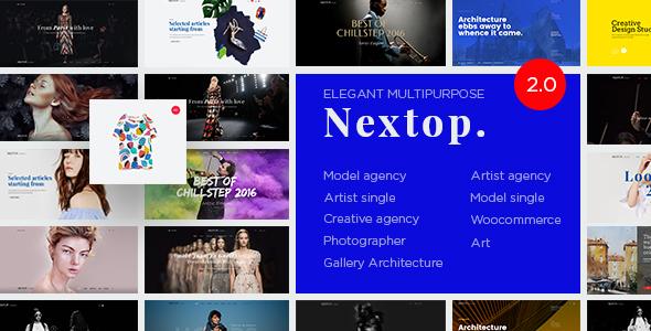 Nextop - قالب وردپرس