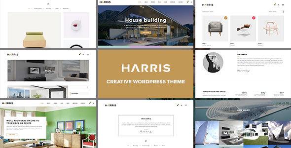 Harris - قالب وردپرس خلاق