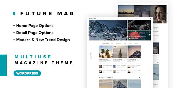 قالب Future - قالب وردپرس مجله