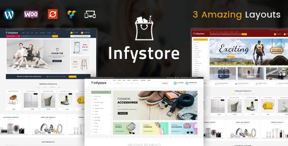 اینفی استور | Infystore - قالب فروشگاهی چند منظوره