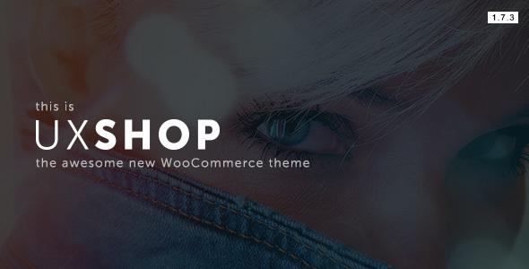 UX Shop - قالب ووکامرس ریسپانسیو