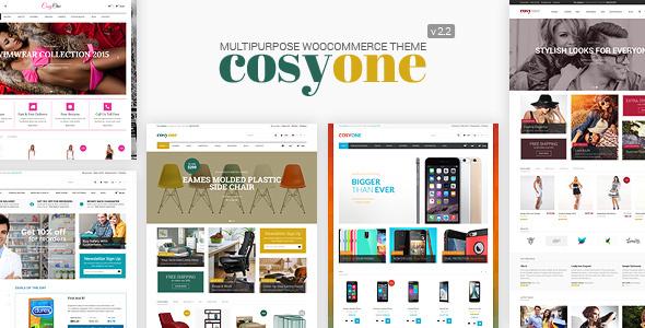 قالب کازی وان | CosyOne - قالب ووکامرس چند منظوره