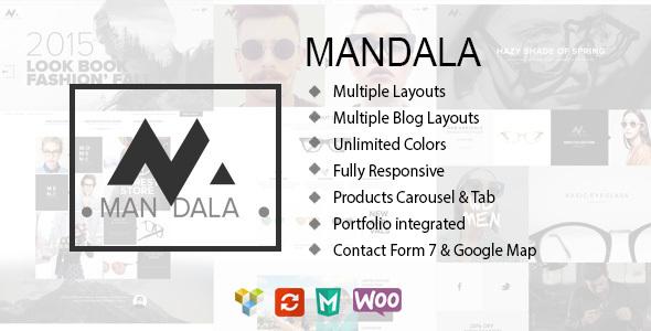 قالب Mandala - قالب وردپرس فروشگاهی ریسپانسیو