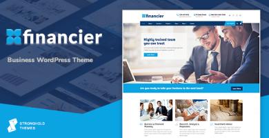 فینانسیر | Financier - قالب وردپرس کسب و کار
