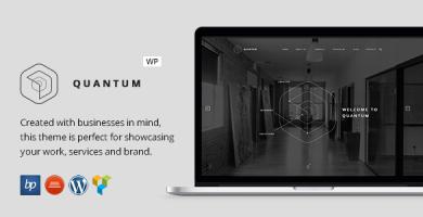 کوآنتوم | Quantum - قالب وردپرس کسب و کار