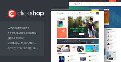 ClickShop - قالب وردپرس ووکامرس
