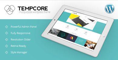 قالب Tempcore - قالب وردپرس ریسپانسیو