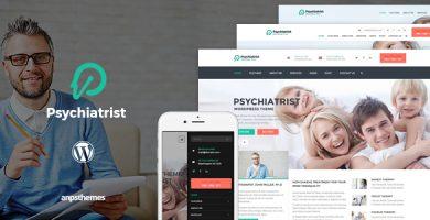 قالب روانپزشک | Psychiatrist - قالب وردپرس