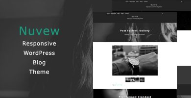 قالب نیووی | Nuvew - قالب وبلاگ وردپرس ریسپانسیو