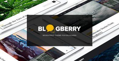 قالب بلاگ بری | Blogberry - قالب وردپرس