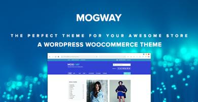 قالب Mogway - قالب وردپرس فروشگاهی ریسپانسیو