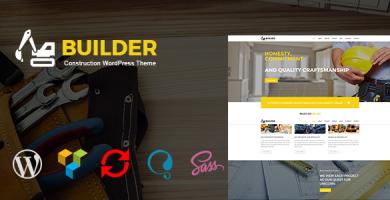 قالب Builder - قالب وردپرس ساخت و ساز