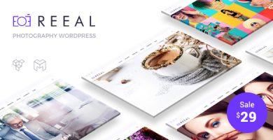 قالب ریل | Reeal - قالب وردپرس عکاسی