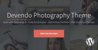قالب دوندو | Devendo - قالب وردپرس عکاسی