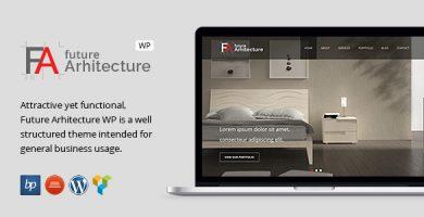قالب معماری آینده   Future Architecture - قالب وردپرس ریسپانسیو