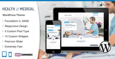 قالب سلامت و پزشکی | Health & Medical - قالب وردپرس پزشکی
