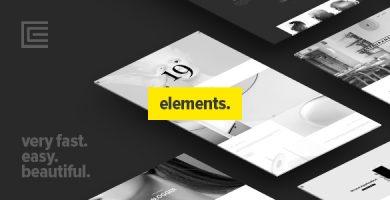 قالب Elements - قالب وردپرس چند منظوره خلاقانه