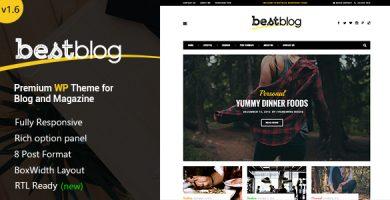 قالب بست بلاگ | BestBlog - قالب وبلاگ وردپرس ریسپانسیو