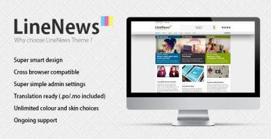 قالب لاین نیوز | LineNews - قالب وردپرس