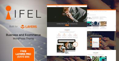 قالب IFEL | Business - قالب فروشگاهی وردپرس