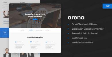قالب آرنا | Arena - قالب وردپرس کسب و کار و وکالت