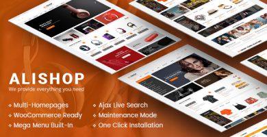 قالب آلی شاپ | AliShop - پوسته وردپرس فروشگاه حرفه ای