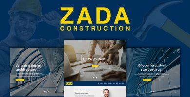 زادا | Zada - قالب وردپرس ساخت و ساز