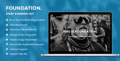 قالب Foundation - قالب وردپرس چند منظوره
