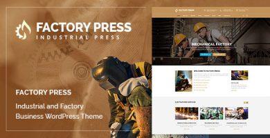 قالب Factory Press - قالب وردپرس