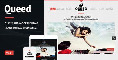 قالب Queed - قالب وردپرس کسب و کار