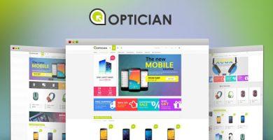 قالب VG Optician - قالب وردپرس فروشگاهی ریسپانسیو
