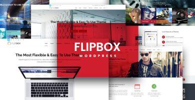 قالب FlipBox - قالب چند منظوره ریسپانسیو