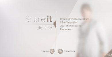 قالب Share It - قالب وردپرس گاهشمار