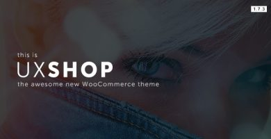قالب UX Shop - قالب ووکامرس ریسپانسیو