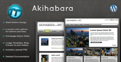 Akihabara - قالب وردپرس