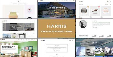 قالب Harris - قالب وردپرس خلاق