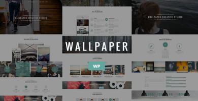 قالب Wallpaper - قالب وردپرس چند منظوره