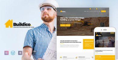 قالب Buildico - قالب وردپرس ساخت و ساز