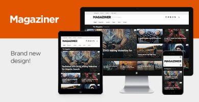 قالب Magaziner - قالب ریسپانسیو مجله برای وردپرس