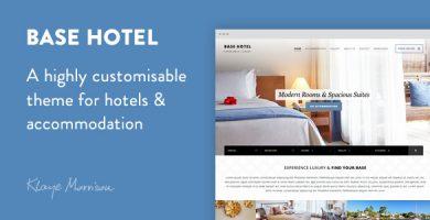 قالب بیس هتل | Base Hotel - قالب وردپرس