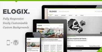 قالب ELOGIX - قالب وردپرس کسب و کار ریسپانسیو