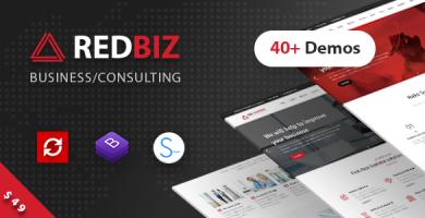 ردبیز | RedBiz - قالب وردپرس چند منظوره حرفه ای