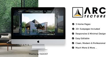 Arctecture - قالب وردپرس دکوراسیون داخلی