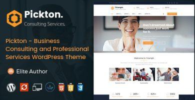 قالب پیکتون | Pickton - قالب شرکتی و فروشگاهی