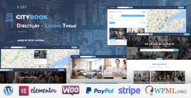 سیتی بوک | CityBook - قالب وردپرس دایرکتوری و ثبت آگهی