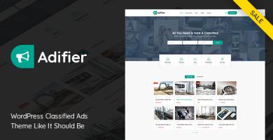 ادیفیر | Adifier - قالب ثبت آگهی و کاریابی