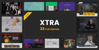 قالب اکسترا | XTRA - پوسته وردپرس چند منظوره و خلاقانه