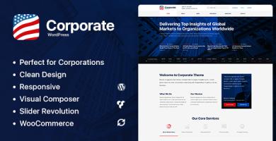 Axxum - قالب وردپرس شرکت و کسب و کار