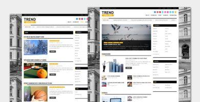 قالب Trend - قالب وردپرس مجله